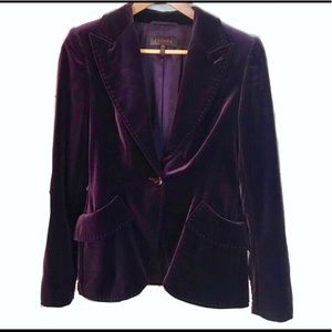 Escada Purple Velvet Jacket